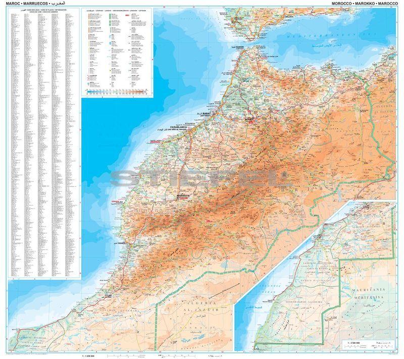 marokkó térkép Marokkó térkép marokkó térkép