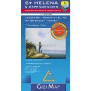 Szent Ilona szigete / St. Helena and Dependencies térkép