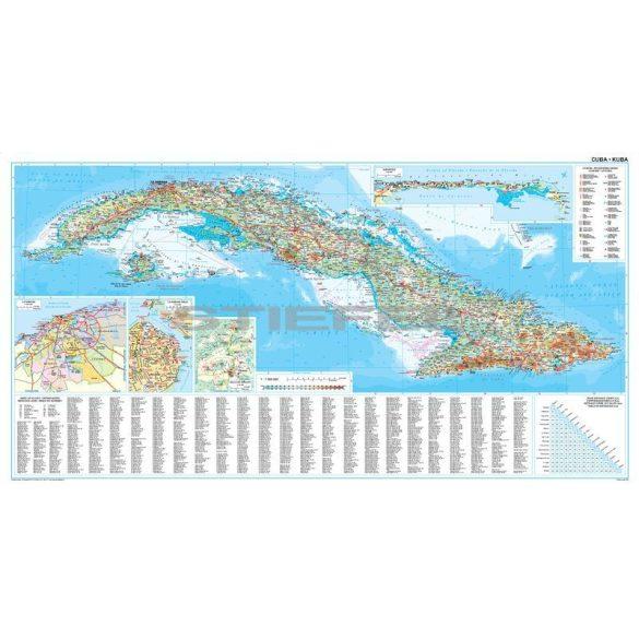 Kuba térkép