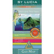 Saint Lucia autótérkép