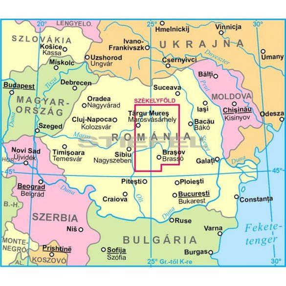 Erdély dél-keleti része (Székelyföld) - Új kiadás