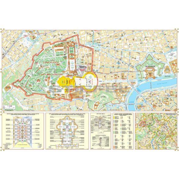 Vatikán várostérképe