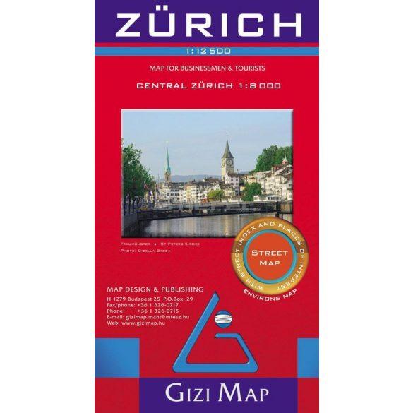 Zürich várostérképe