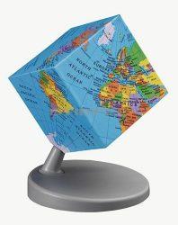 Földgömb Earth2 kockagömb