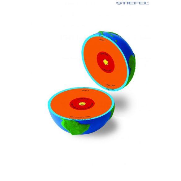 Szétszedhető szerkezeti földgömb kemény habszivacsból Ø 13  cm