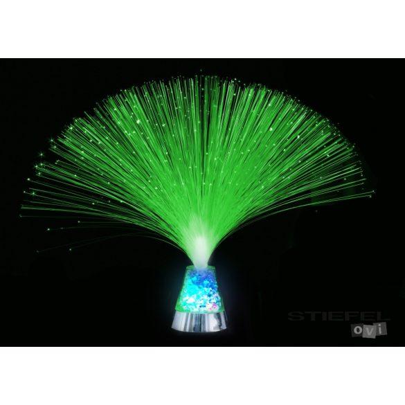 Optikai szálas lámpa - jégkristály