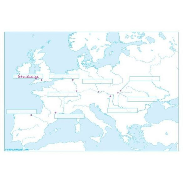 Történelmi körvonalas térképek atlasza I.