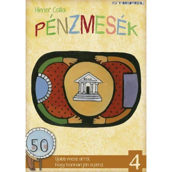 Pénzmesék I.-IV. mese és foglalkoztató könyv