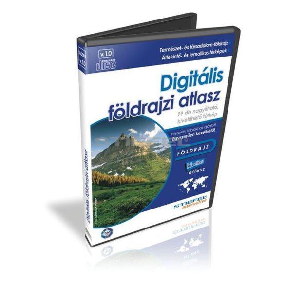 Digitális földrajzi atlasz CD, 3 gépes licenc