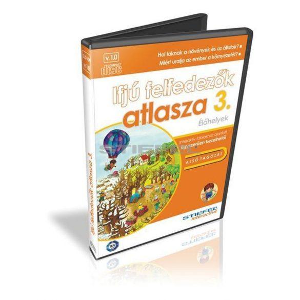 Ifjú felfedezők atlasza 3.CD, digitális tananyag