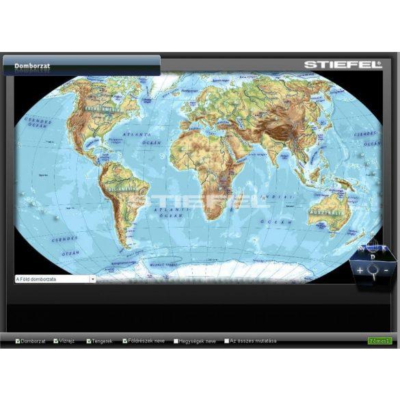 Bolygónk (Föld) földrajza CD, Digitális tananyag