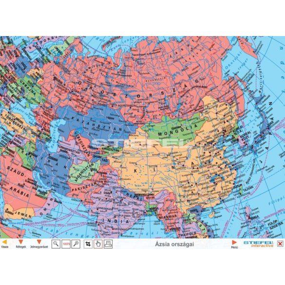Eurázsián kívüli kontinensek CD, Digitális tananyag