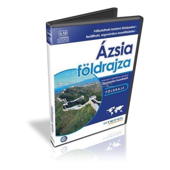 Ázsia földrajza - oktató CD