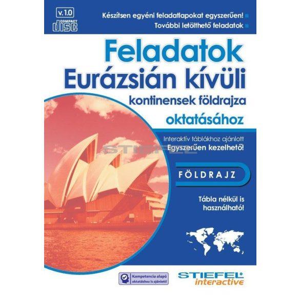 Feladatok az Eurázsián kívüli kontinensek földrajza oktatásához CD- 3 gépes licenc