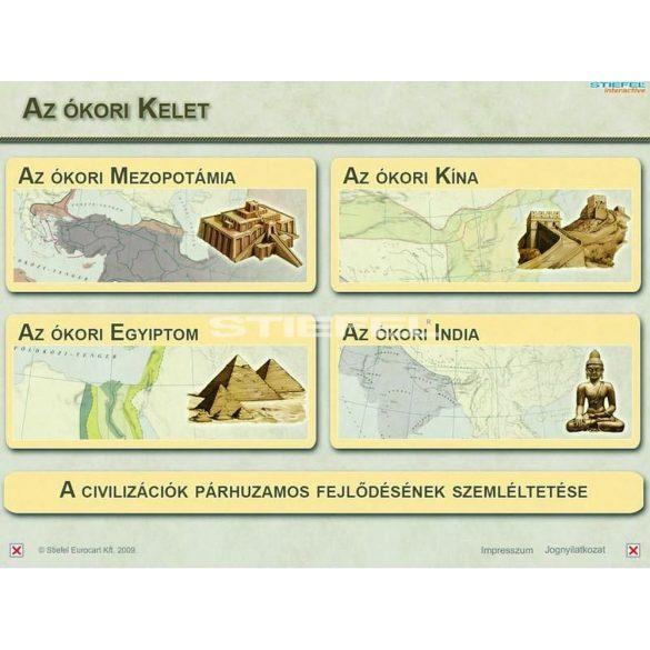 Az ókori Kelet - oktató CD, digitális tananyag