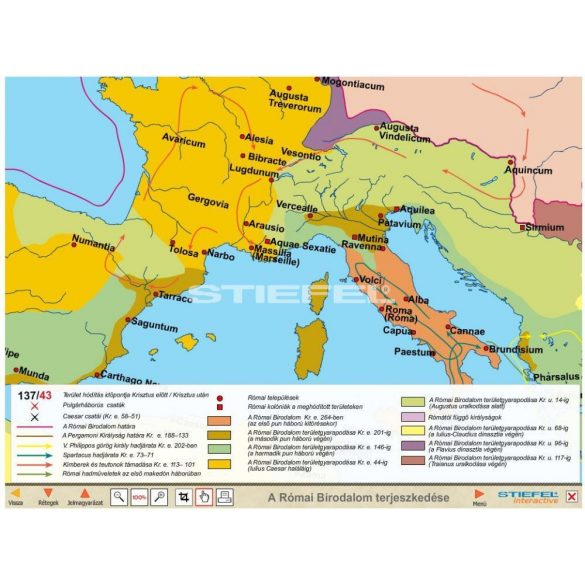 A Római Birodalom CD,Digitális tananyag