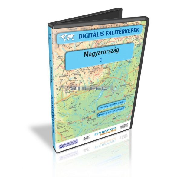 Digitális Térkép - Magyarország 1. (7 térkép)