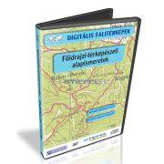 Digitális Térkép - Földrajzi-térképészeti alapismeretek (11 térkép)