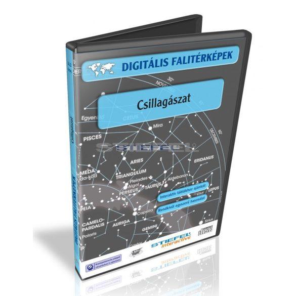 Digitális Térkép - Csillagászat (13 térkép)