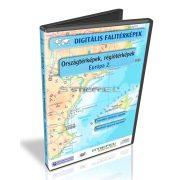 Digitális Térkép - Országtérképek, régiótérképek - Európa 2. (11 térkép)