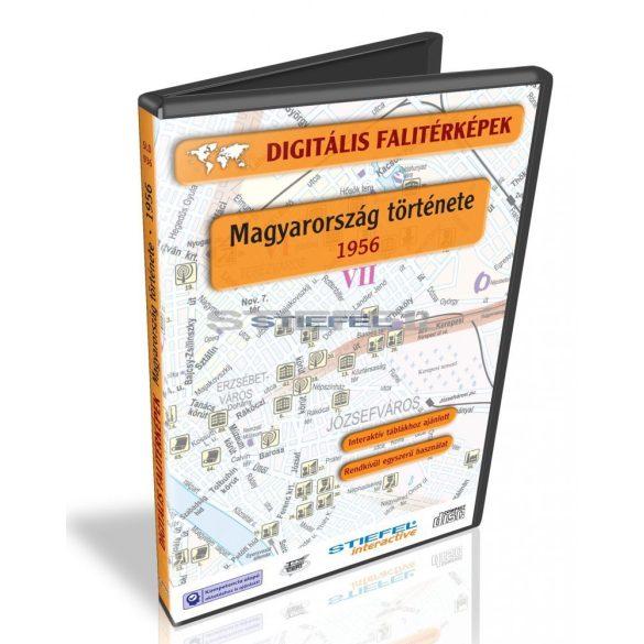 Digitális Térkép - Magyarország története 1956 (6 térkép)