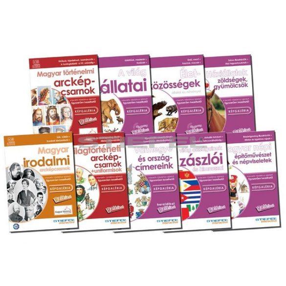 10 db-os képgaléria CD-csomag, digitális tananyag Galéria CD