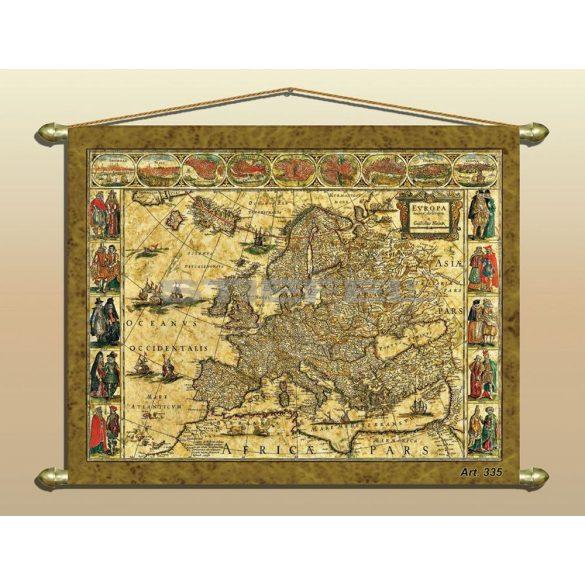 Antik Európa falitérkép (ZT335)