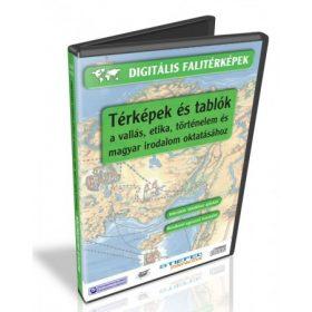 Egyéb térképek és tablók (vallásetika, magyar irodalom, fizika, kémia)
