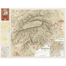 Fakszimile hegységtérképek