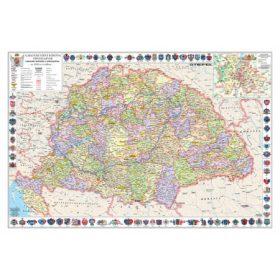 Kaparós Magyar Szent Korona 1910 térkép