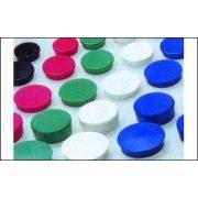 Mágneskorong (vegyes színek, 30 mm)