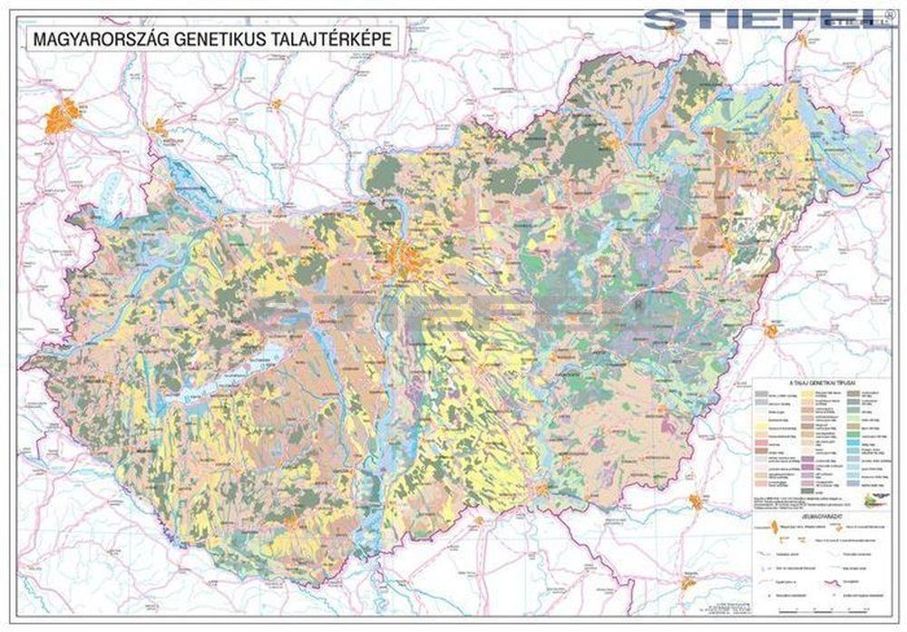 Magyarország talajtani térképe